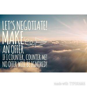 Make me an offer 😉👍🏼))!